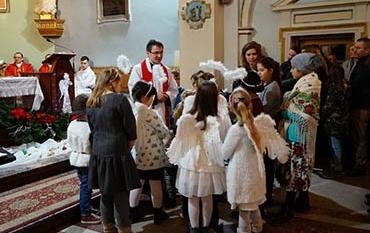 Msza św. dla dzieci i wspólne kolędowanie